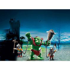 PLAYMOBIL 6004 Рыцари: Гигантский тролль и боевые гномы