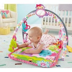 Развивающий коврик, розовый, Fisher Price Mattel