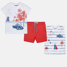 Комплект:2 футболки,шорты Mayoral для мальчика