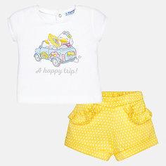 Комплект:бриджи,футболка Mayoral для девочки