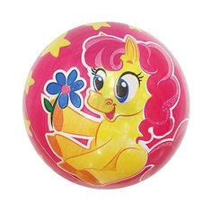 """Детский мяч Shantou Gepai """"Розовая лошадка"""", 22 см"""