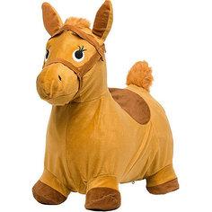 Лошадка-попрыгунчик Shantou Gepai, бежевая
