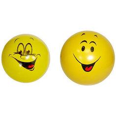 """Мяч Мячи-Чебоксары """"Смайлики"""", 7,5 см,  в ассортименте"""