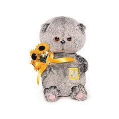 Мягкая игрушка Budi Basa Басик Baby с подсолнухами, 20см