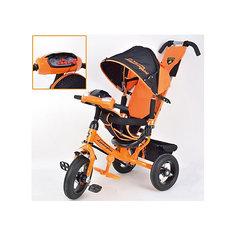 Трехколесный велосипед Lamborghini, оранжевый
