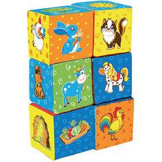 """Первые кубики для малышей """"Ферма"""" Macik"""