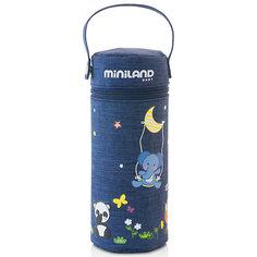 "Термо-сумка для бутылочек Miniland ""Denim"", 330 мл"