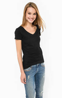 Хлопковая футболка с нагрудным карманом Mavi