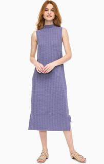 Трикотажное платье с разрезами Stefanel
