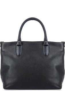 Вместительная кожаная сумка Fiato
