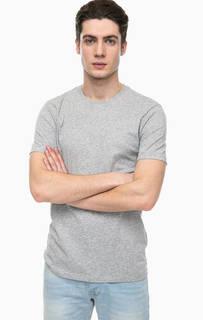 Однотонная хлопковая футболка United Colors of Benetton