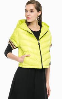 Куртка на молнии с короткими рукавами Pinko