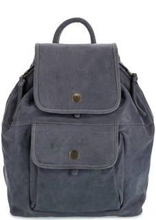Кожаный рюкзак с откидным клапаном Bruno Rossi