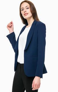 Пиджак синего цвета с застежкой на пуговицу Kocca
