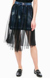Расклешенная юбка средней длины Kocca