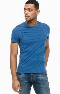 Хлопковая футболка в полоску Tom Tailor