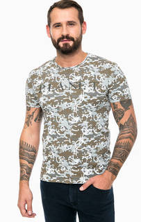 Хлопковая футболка в стиле милитари Mavi