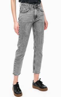 Зауженные джинсы с высокой посадкой One Teaspoon