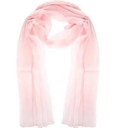 Розовый палантин из шелка Fraas