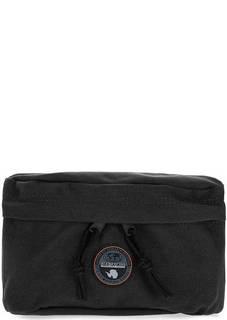 Текстильная поясная сумка черного цвета Napapijri