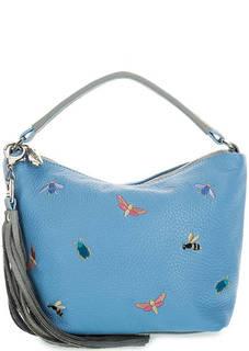 Маленькая сумка из натуральной кожи Curanni