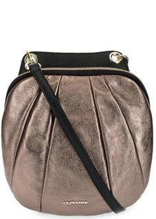 Кожаная сумка через плечо Curanni