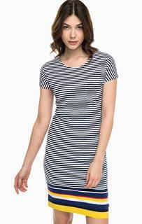 Платье-футболка с нагрудным карманом Barbour