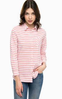 Рубашка оверсайз в полоску Barbour