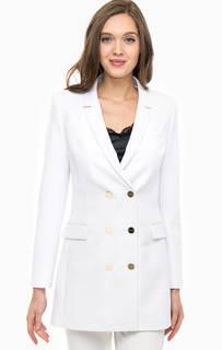Удлиненный пиджак белого цвета Marciano Guess