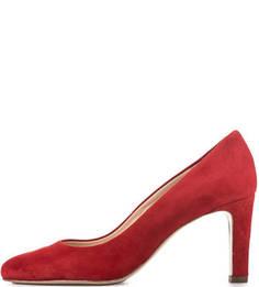 Красные замшевые туфли на шпильке Högl