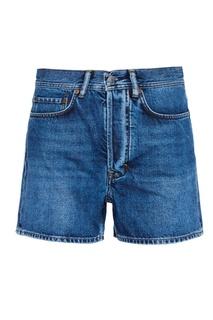 Потертые джинсовые шорты Swamp Acne Studios