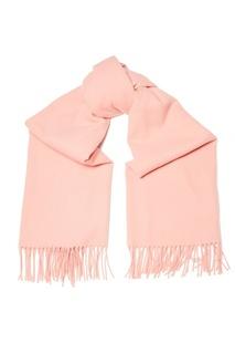 Розовый шарф с бахромой Canada New Acne Studios