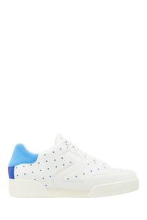Белые кроссовки с голубыми точками Stella Mc Cartney