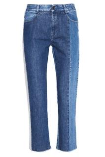Комбинированные джинсы Stella Mc Cartney