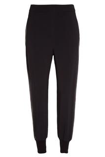 Черные драпированные брюки Stella Mc Cartney