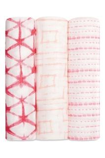 Набор пеленок с геометрическим принтом Aden+Anais