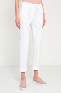 Белые хлопковые брюки Lorena Antoniazzi