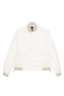 Белая стеганая куртка Lorena Antoniazzi