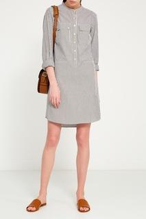 Хлопковое платье-рубашка Michael Michael Kors
