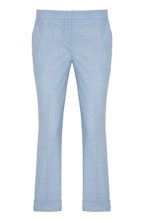 Голубые шерстяные брюки Lorena Antoniazzi