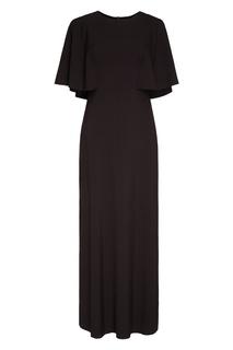 Черное платье-макси Cyrille Gassiline Base