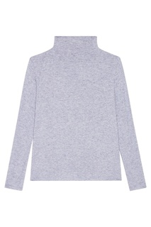 Голубой свитер из шерстяного микса Blank.Moscow
