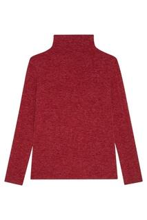 Бордовый свитер из шерстяного микса Blank.Moscow