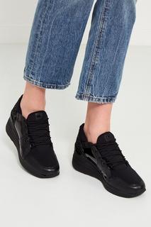 Черные текстильные кроссовки Michael Michael Kors