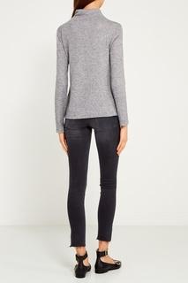 Серый свитер из шерстяного микса Blank.Moscow