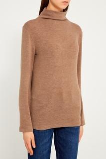 Бежевый свитер из шерстяного микса Blank.Moscow