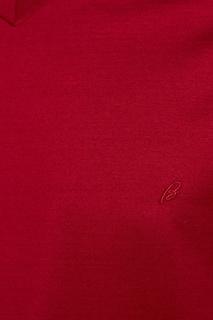 Хлопковая футболка с V-вырезом Brioni