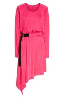 Платье с асимметричным подолом Mo&Co