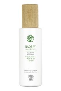 Матирующий тоник-мист для поддержания баланса кожи / Equilibria Face Mist Toner, 200 ml Naobay