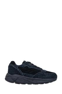 Черные замшевые кроссовки Hts74